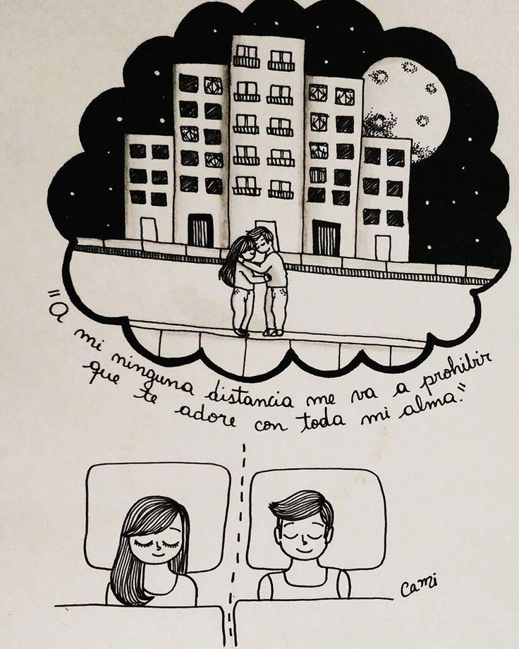 Amores a distancia, tan imposibles y tan hermosos :(