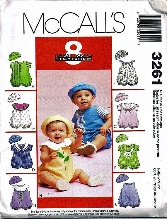 58 best Best Baby Sewing Patterns images on Pinterest | Factory ...