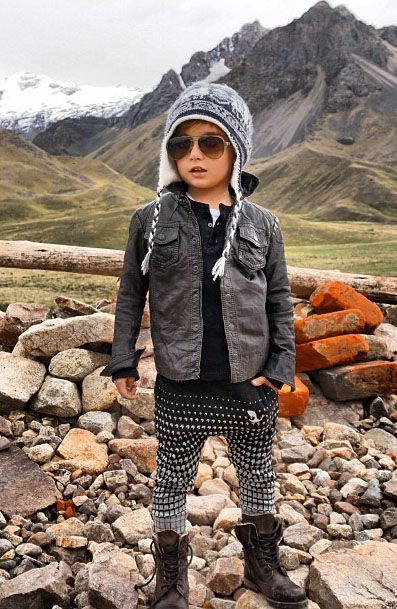Kid fall fashion style. Are you kidding me? So cute!