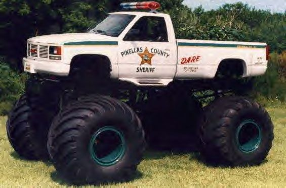 Police Moster Truck Monsters Pinterest Monster