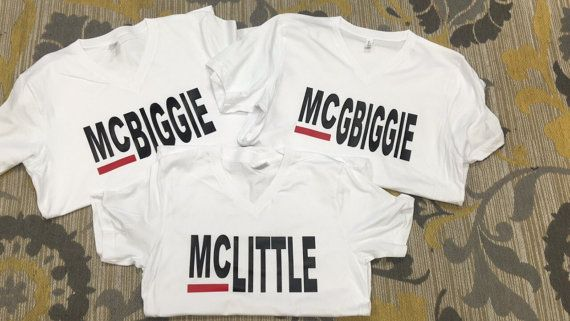 Grey's Inspired Big Little Reveal McBiggie by TheShirtPlace