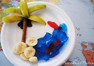 Island snack idea #Equippingkids #VBS #kids