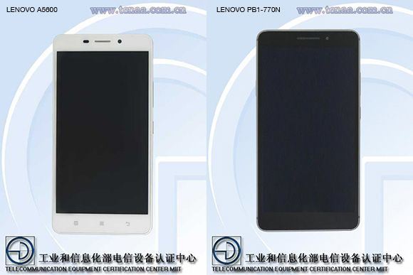 Two unknown Lenovo devices make a visit at TENAA in China - GSMArena.com news
