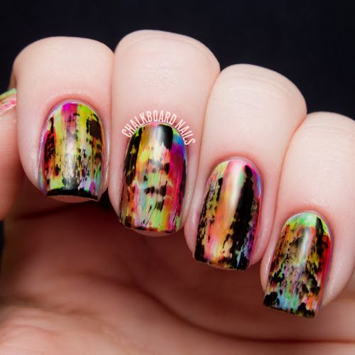 Chalkboard Nails: pop culture