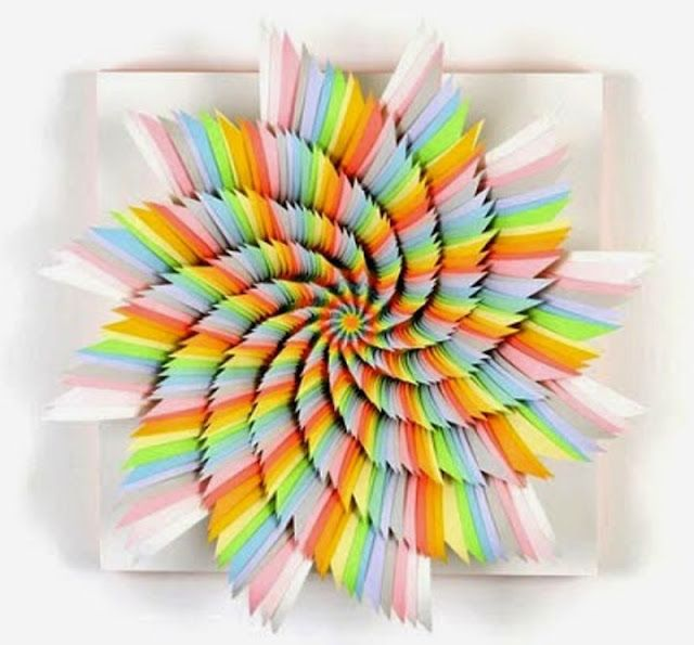 Foto Origami Kincir artistik warna | Download Foto Fb HD