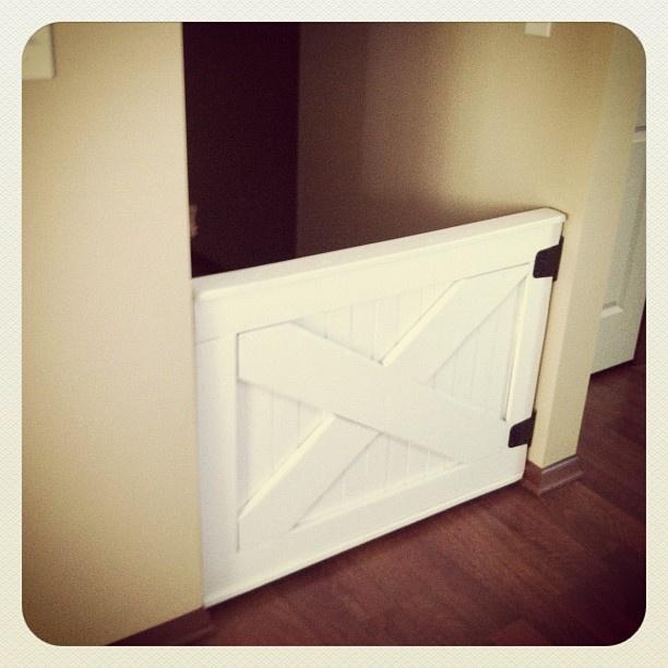 DIY baby gate- doggie kitchen gate