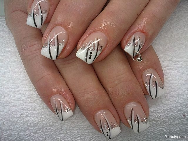 1853 best french manucure images on pinterest nail design gel nails and french people - Nagelbilder galerie ...