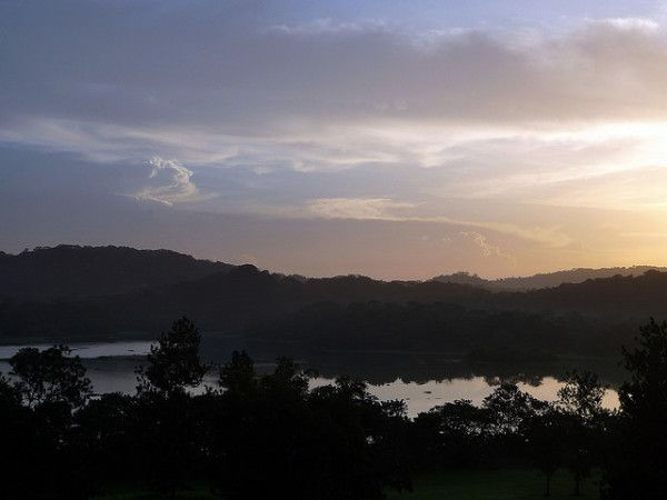 Interesting Facts About Panama: Sunrise over Chagres River, Soberania National Park