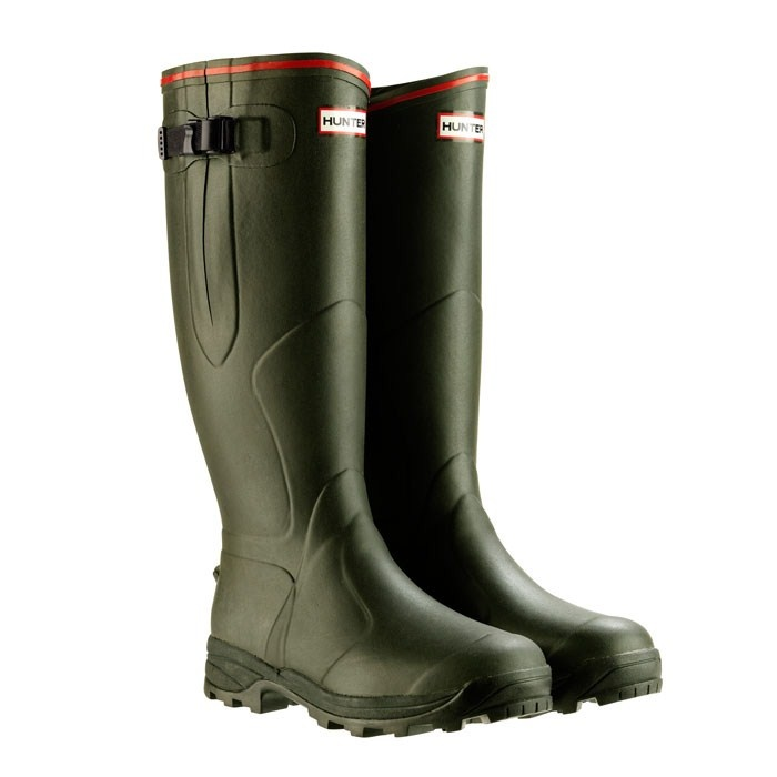 balmoral neoprene, hunter boots  with wider gussets