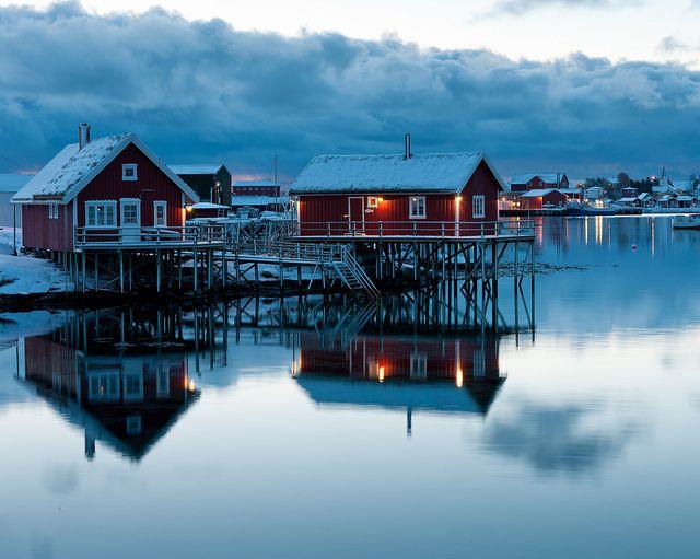 Lofoten Islands, Norway by pboehi, via Flickr