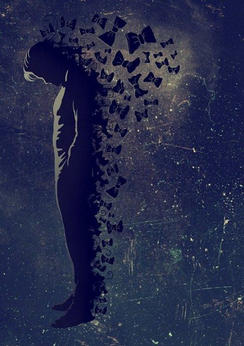 Doctor Who ~ Eleven - We will not forget - I thought these were butterflies from a sad man...bowties...makes it worse.