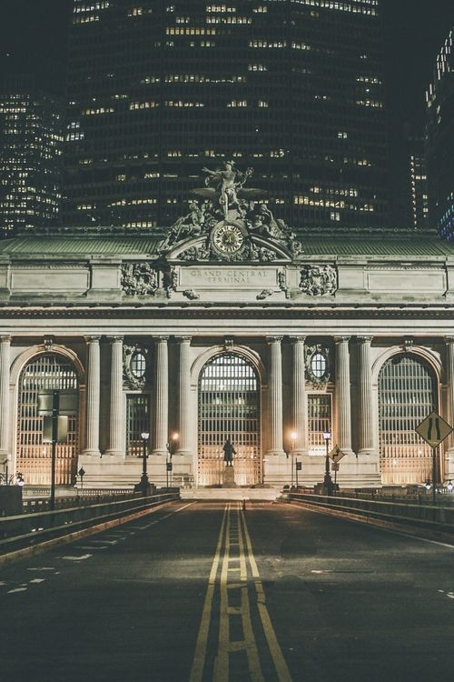 Street view of Grand Central Terminal, NYC