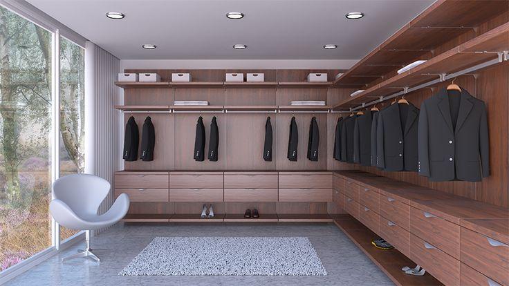 Saber aprovechar los espacios para crear soluciones prácticas es indispensable al momento de #decorar la habitación. ¡Contáctenos! Le ofrecemos la mejor asesoría para el #diseño de sus espacios. #Wardrobe #Decoración  Showroom cra 29A # 71A- 28