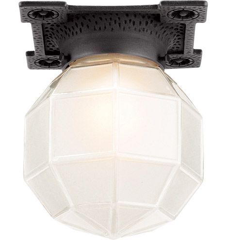 Marshall  Craftsman Flush Ceiling Fixture Item #A8816  Small but mighty, the Marshall has the fine detail and definition one might expect in a heftier fixture. Happily, its size makes it uniquely suited as…  $182