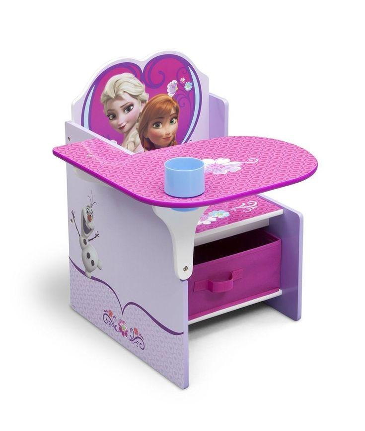 Kids Chair Desk Disney Disney Frozen Play Table Seat Storage Toddler Furniture #Unbranded