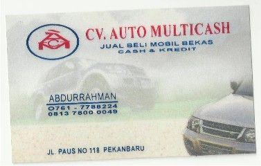 Auto multicash