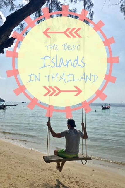 Looking for the best islands to visit in Thailand? A list of the best  places to go in Thailand for scuba diving, island life, backpacking,  party, luxury and adventure.