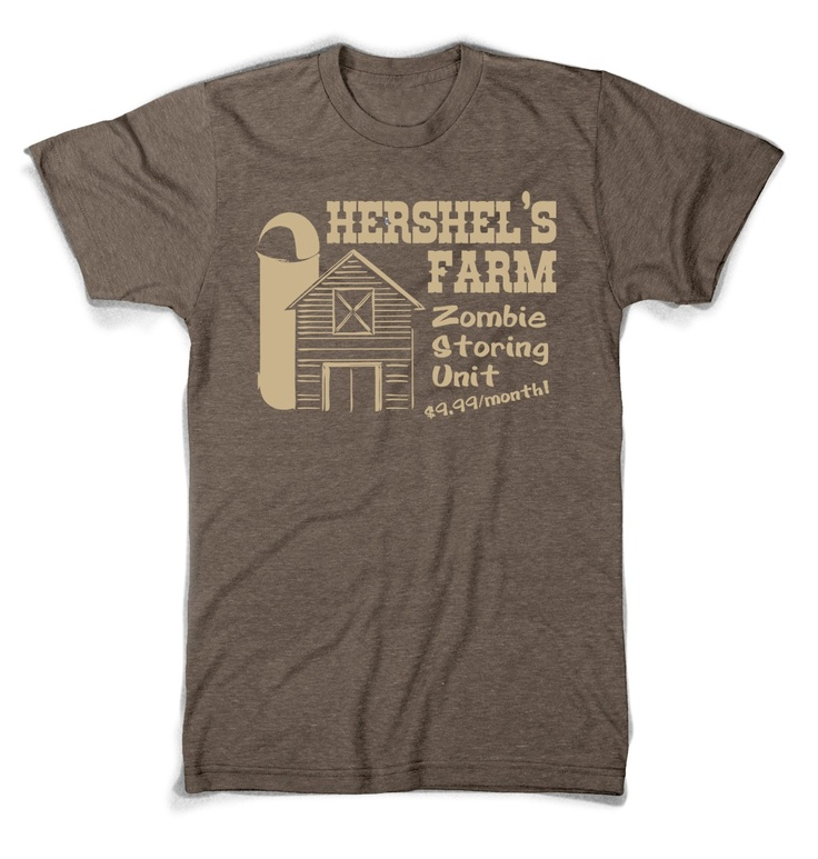 Hershel's Farm Walking Dead t shirt