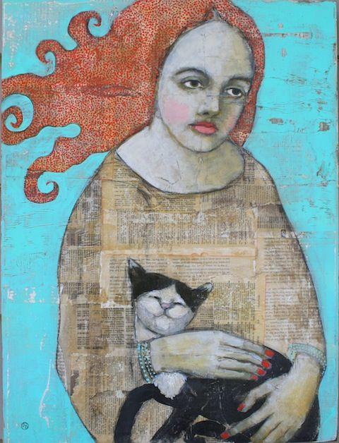 Happy Cat   Jane DesRosier