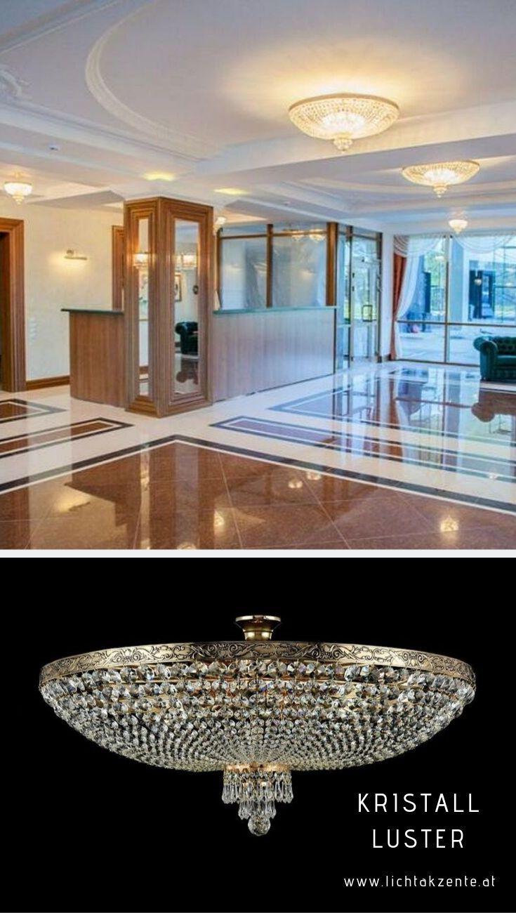 Moderne Kristall Deckenleuchte Leuchte Lüster Kronleuchter