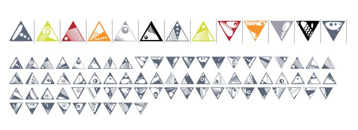 Buy Ann's Deco Glyphs Triangles desktop font from Dingbatcave on Fonts.com.