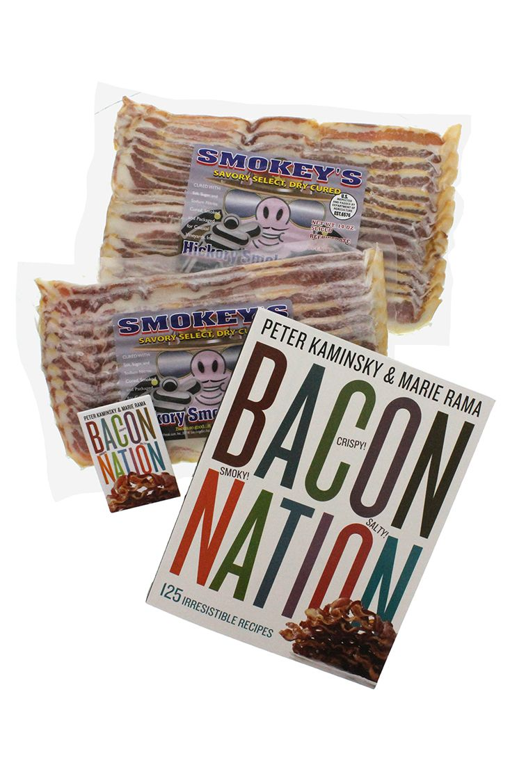 The Smoky Salty Crispy Bacon Nation Bundle! Ideal for Father's Day gift giving.