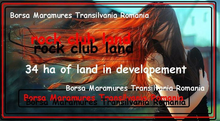 borsa transilvania - rock club land domain- 34 ha of land in developement