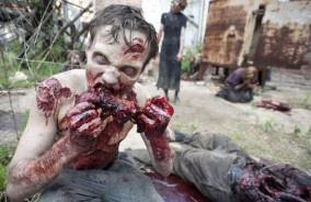 TWD-S2-Zombie-Photos-590: Thewalkingdead, Zombies Apocalyp, The Walks Dead, Seasons, Walking Dead, Red Lips, Zombies Makeup, Photo, Walks Dead Zombies