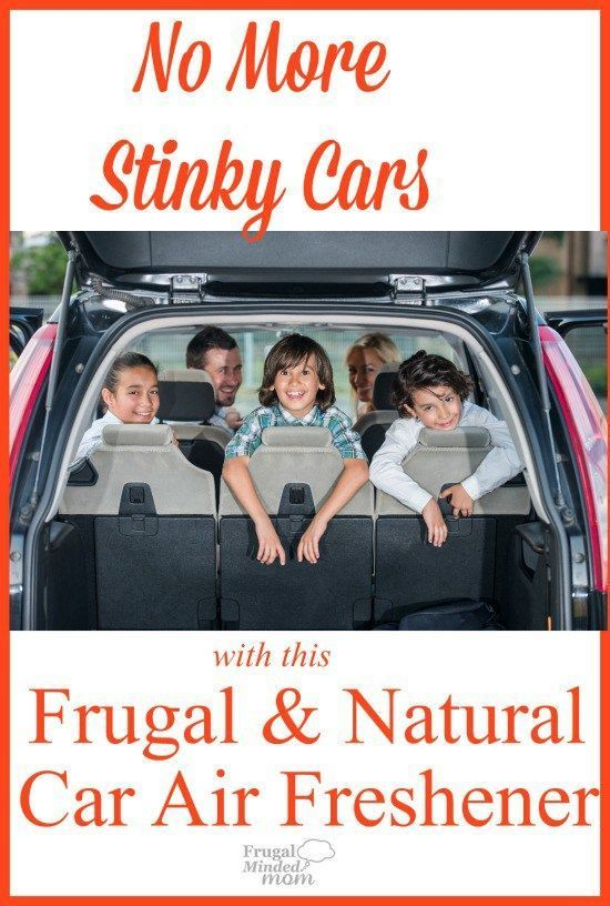 Does your car have that totally lived in feeling?  Complete with smells and all?    No need to buy pricey and artificial fragrance air fresheners when you can make your own very frugally.  And they are good for you too.
