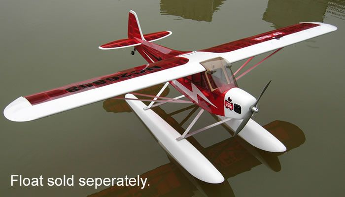 "4CH New J3 Piper Cub .60 - 71"" Nitro Gas Radio Controlled Airplane ARF Kit"