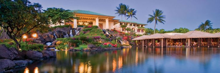 Grand Hyatt Kauai Resort, 5 star, Beachfront, w/car, Book Now! http://www.tropicaltravel.net/vacation_packages/d//kauai/vacation/7888/ #kauaivacation #beachfront #hawaiidestination