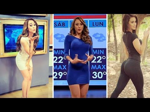 Hottest Weather Girl EVER! - YouTube