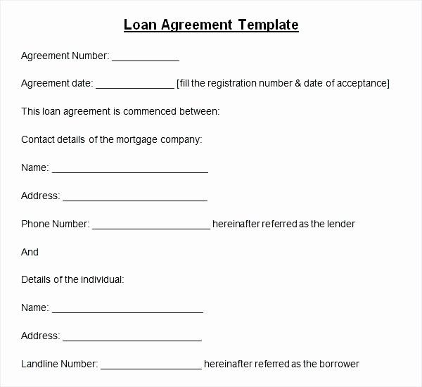 50 Lovely Hard Money Loan Contract Template In 2020 Contract