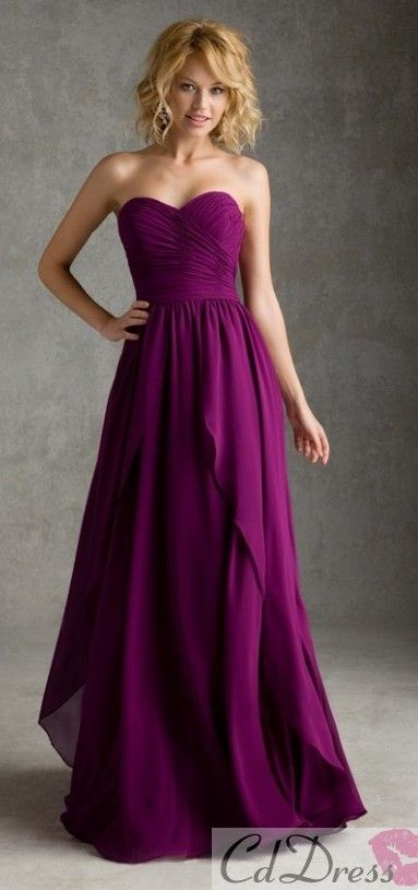 bridesmaid dress bridesmaid dresses...absolutely love these! they can even wear a statement necklace.