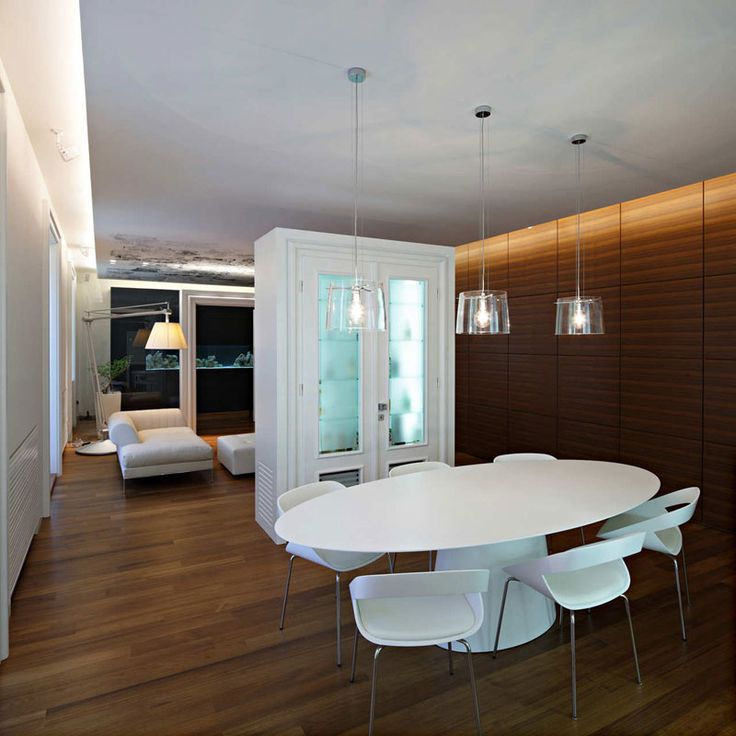 Modern Rustic Dining Room Interior Ideas With White Classic Cabinet And Frosted Glass Door Classy Apartment Design