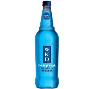 WKD blue vodka alcopop - YUM
