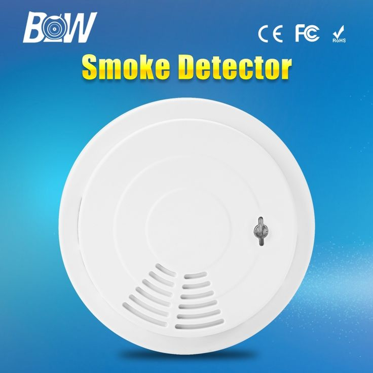 12.75$  Buy here - http://aliuqq.shopchina.info/go.php?t=32666013944 - BW Wireless Home Security Alarm System Sensitive Smoke Detector Accessory Siren for Surveillance IP Camera CCTV Free Shipping 12.75$ #bestbuy