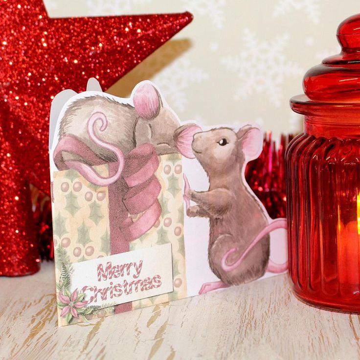 Created using DaisyTrail's Mouse Christmas digikit.