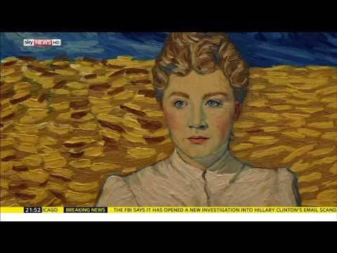 Loving Vincent - Sky News Clip - YouTube