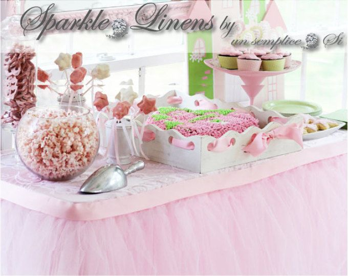 Tulle Tutu Table Skirt, Satin Swag, Lace Swag, Lighting Accessories
