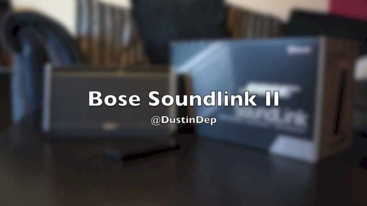 Bose Soundlink II UK Unboxing & Full review *UPDATED AUDIO*