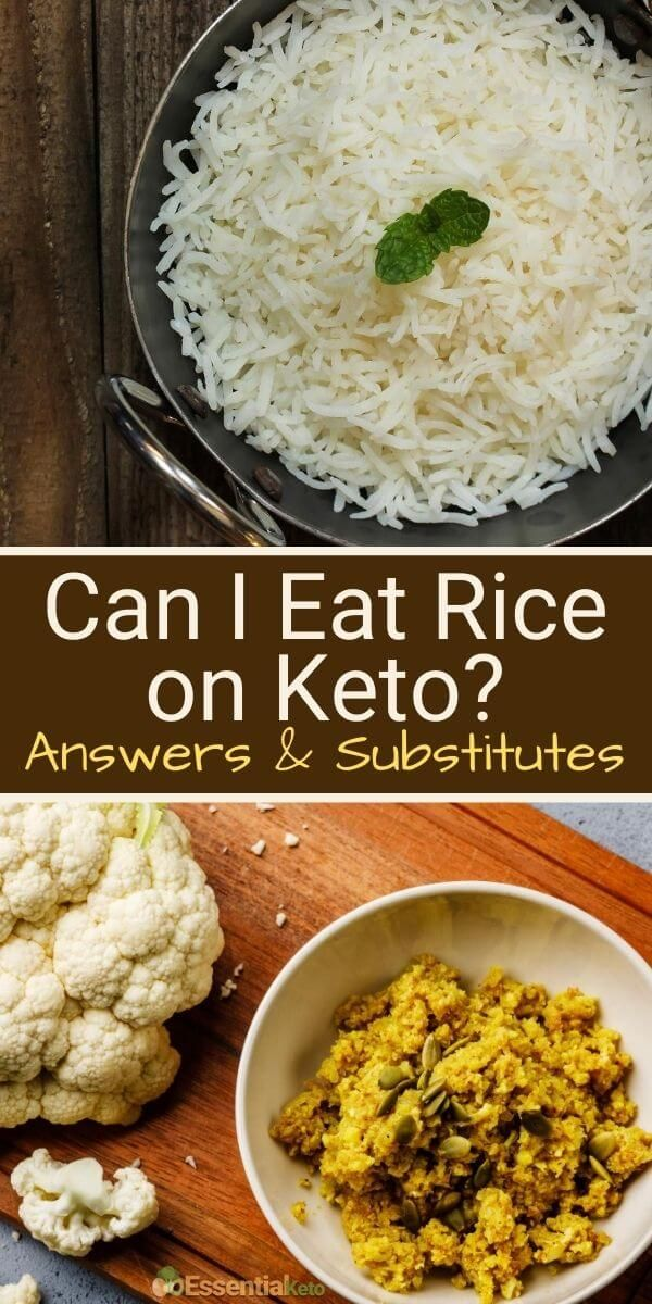 Is Rice Okay On Keto Healthy Snacks Recipes High Carb Foods Low Carb Diet