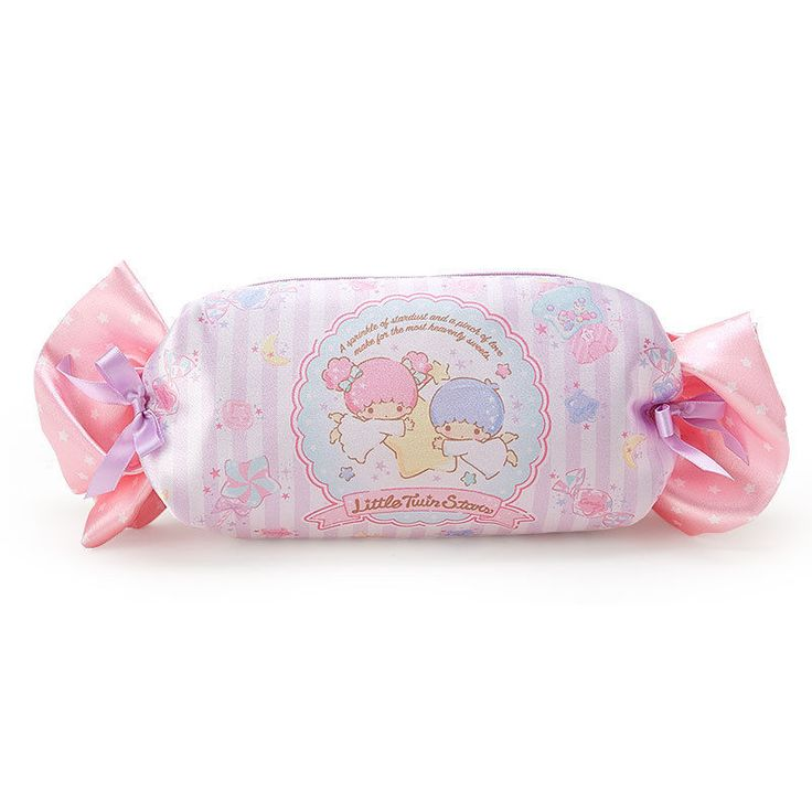 New Little Twin Stars Candy Type Pencil Case Pouch SANRIO Japan F/S #SANRIO