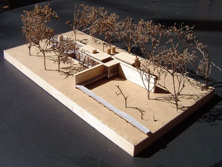 Conceptual design (unrealised) by Charles van Breda Architects for a house in Stilbaai, South Africa