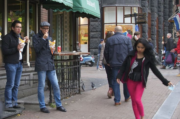 Pommes Frites and Red Pants photo | 23 Photos Of Amsterdam