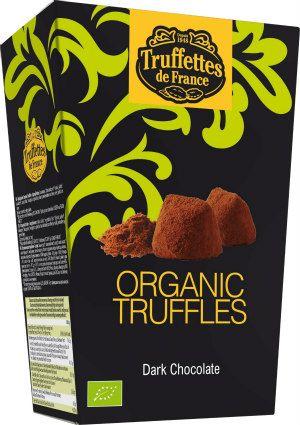 Czekoladki trufle z ciemną czekoladą Bio, 250 g - Truffettes de France