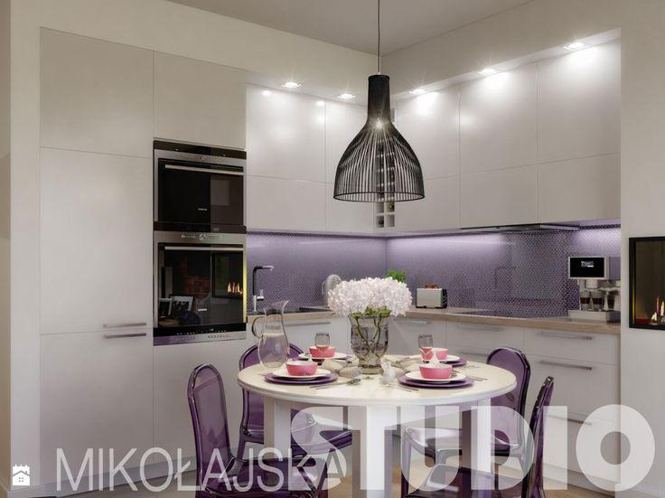 kuchnia stół - zdjęcie od MIKOŁAJSKAstudio - Kuchnia - Styl Glamour - MIKOŁAJSKAstudio