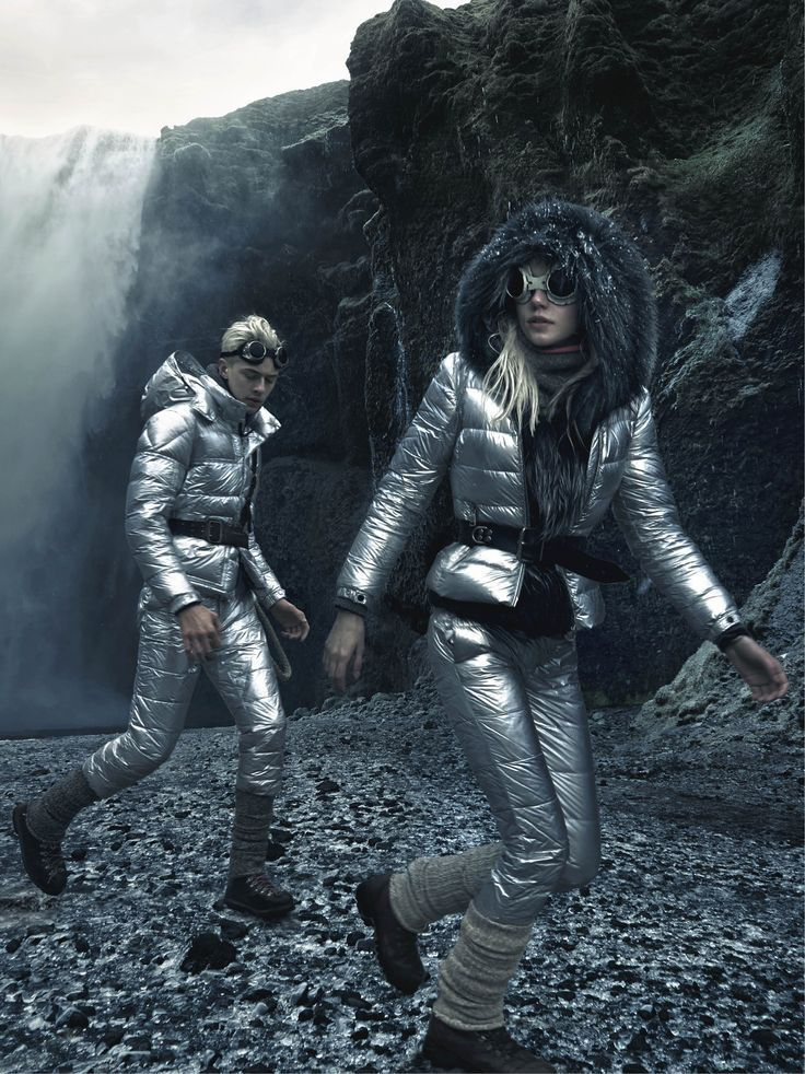 Once upon a time, in a timeless time and a placeless place, there were two very young twins, with hair lighter than the midnight sun and eyes of a clear sky-blue. The two twins, Lucky and Pyper, lived alone and they loved each other very much #moncler #fw15