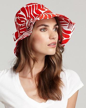 kate spade new york Florence Broadhurst Fingers Sun Hat   Bloomingdale's