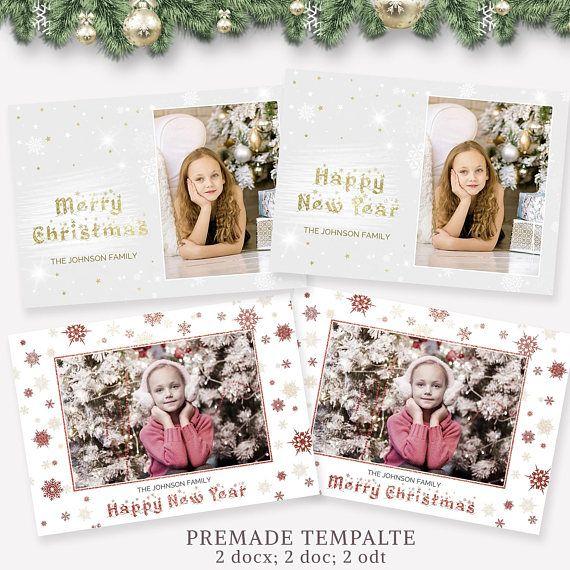 christmas card template christmas card template 5x7 instant